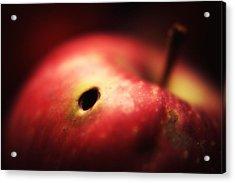 Apple Acrylic Print by Svetlana Peric