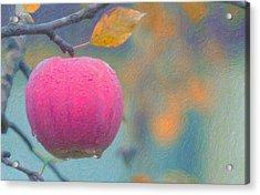 Apple Tears  Acrylic Print