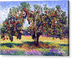 Apple Tree Orchard Acrylic Print