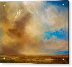 Apple Valley Acrylic Print by Lonnie Christopher