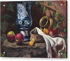 Apples And Oranges Acrylic Print by Timothy Jones