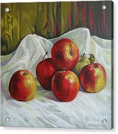 Apples Acrylic Print