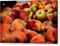 Apples In The Market Acrylic Print