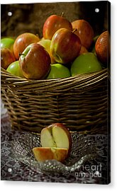 Apples To Share Acrylic Print