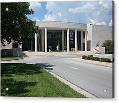 Appleton Museum Of Art Acrylic Print by Warren Thompson