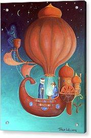 Apprenticeship Acrylic Print by Tania Williams