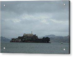 Approaching Alcatraz Acrylic Print by Gordon Beck