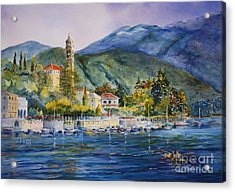 Approaching Bellagio Acrylic Print by Betsy Aguirre