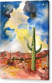 Approaching Monsoon Acrylic Print