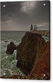 Approaching Storm Acrylic Print by Patrick  Flynn