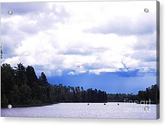 Approaching Storm Acrylic Print by Thomas R Fletcher