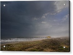 Approaching Thunderstorm Acrylic Print by Andreas Freund