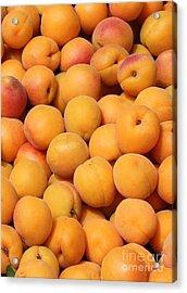 Apricots Acrylic Print by Carol Groenen