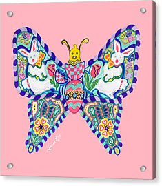 April Butterfly Acrylic Print