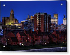 April Nighttime Acrylic Print by Don Nieman