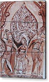 Apsara Be.ing Taken Away Acrylic Print