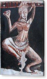 Apsara Dancing Acrylic Print