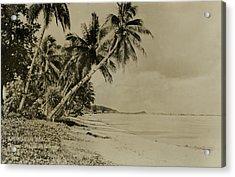 Acrylic Print featuring the photograph Apurguan Beach Guam Marianas Islands by eGuam Photo