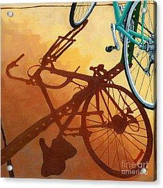 Aqua Angle Acrylic Print