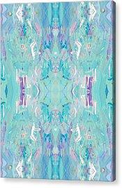 Aqua Acrylic Print by Beth Travers