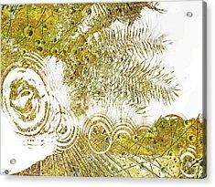 Aqua Metallic Series Skip Acrylic Print