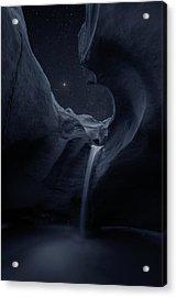 Acrylic Print featuring the photograph Aqua Noctem by Dustin LeFevre