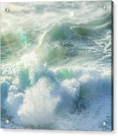 Acrylic Print featuring the photograph Aqua Surge by Amy Weiss