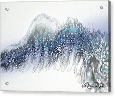 Acrylic Print featuring the painting Aquatic 2 by Kate Word