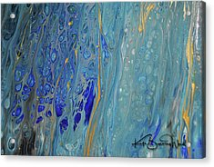 Acrylic Print featuring the painting Aquatic 4 by Kate Word
