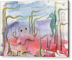 Aquatic Bliss Acrylic Print