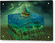 Aquatic Life Acrylic Print