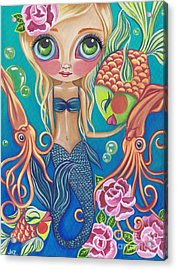 Aquatic Mermaid Acrylic Print