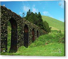 Aqueduct Acrylic Print by Gaspar Avila