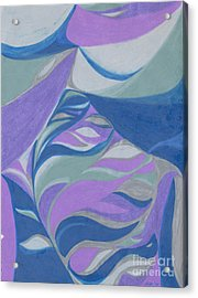 Acrylic Print featuring the drawing Aqueous by Kim Sy Ok