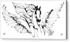 Arabian Angel Acrylic Print