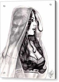 Arabian Beauty Acrylic Print by Scarlett Royal