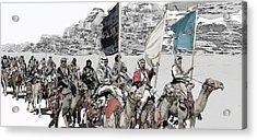 Arabian Cavalry Acrylic Print