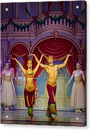 Arabian Dancers Acrylic Print