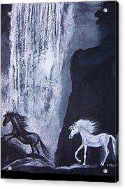 Arabians At Night Acrylic Print