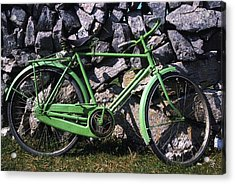 Aran Islands, Co Galway, Ireland Bicycle Acrylic Print