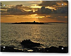 Aran Sunset Acrylic Print