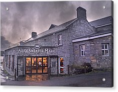 Aran Sweater Market Acrylic Print
