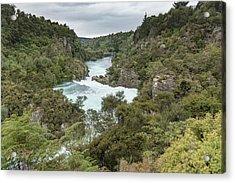 Acrylic Print featuring the photograph Aratiatia Rapids by Gary Eason