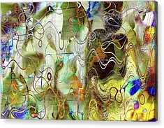 Arbitrary Color Opticality Acrylic Print