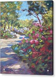 Arboretum Garden Path Acrylic Print