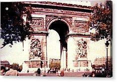 Arc De Triomphe 1955 Acrylic Print