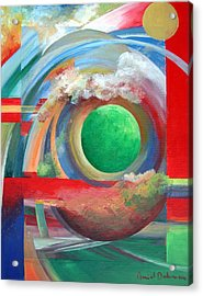 Arc Acrylic Print by Muriel Dolemieux