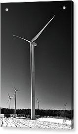 Arcade Wind Turbines 6557 Acrylic Print