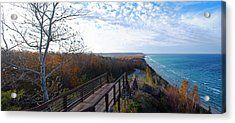 Arcadia Overlook In Fall Acrylic Print by Twenty Two North Photography