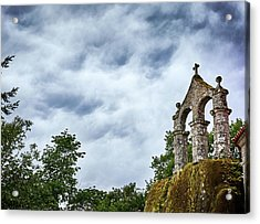 Acrylic Print featuring the photograph Arch At The Monastery Of San Pedro De Rocas by Eduardo Jose Accorinti